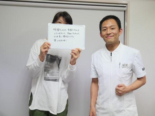 患者さんとの2ショット写真